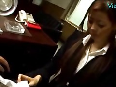 Sun Porno - Secretary in costume g...