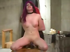 Xhamster - Lesbian wax dildos and...
