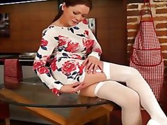 Miah.croft.stockings.&... from Redtube