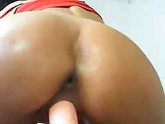 Black girl masturbates... from Vporn