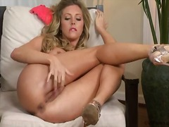 PornerBros - Samantha saint rubbing...