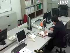 Staggering office sex for...