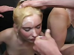Cream filled face from PornHub