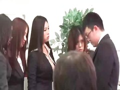 Four babes play with g...