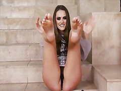 Tori black feet fetish from Redtube