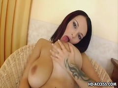 Solo babes deep dildo ... from Ah-Me
