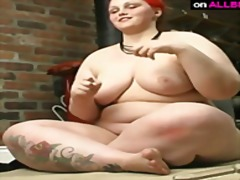 Horny sexy fat bbw fuc... from Ah-Me