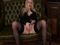 Solo blonde with huge ...