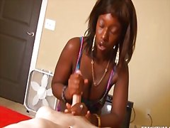 Redtube - Interracial handjob in...