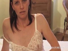 Slim mature playing wi... from IcePorn