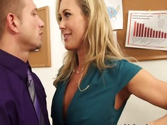 Big tit secretary brandi ...