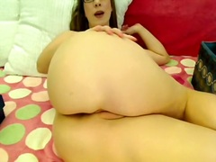 Private Home Clips - Cute solo big tit play...