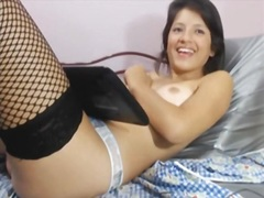Solo chick in hawt nylons