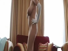 Stunning big tit golde... from Private Home Clips