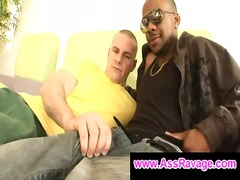 BoyFriendTV - Black thug shows his 1...