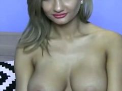 Private Home Clips - Cute busty solo liveca...