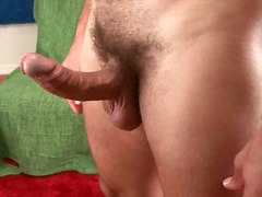 Horny chap teasing his... from BoyFriendTV