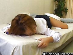 Cute school girl fucks...