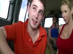 Hot babe seducing a st... from BoyFriendTV