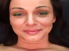 Horny brunette cameron... from Pornoid