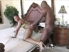 Ebony couple hardcore ...
