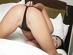 Panty teasing and riba... from Private Home Clips