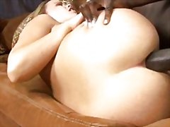 Redtube - Black cream white ass