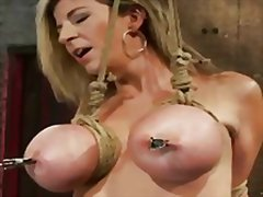 Milf gets tied up and ...