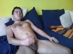 Mature stud whacking off