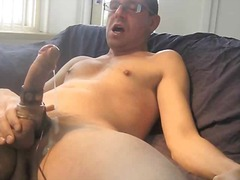 Mature amateur whackin...
