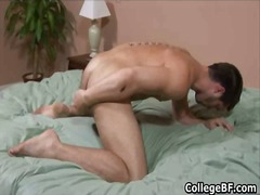 College hunk adam marx... from BoyFriendTV