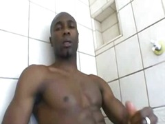 Black thug wanking bbc from BoyFriendTV