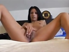 Lewd brunette hair rec... from Private Home Clips