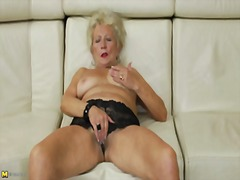 Granny's self pleasure
