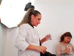 Cute girl puts on slut... from Alpha Porno