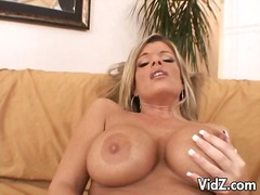 Busty blonde gets fing... from Over Thumbs