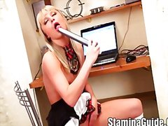 Anal sex for hot blond... from Redtube