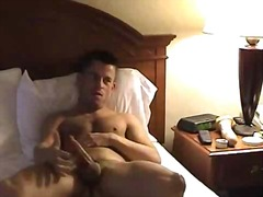 Wanking guy gets dicked from BoyFriendTV