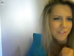 hot crazy golden-haire... from Private Home Clips