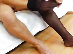 Gay dude masturbating ...