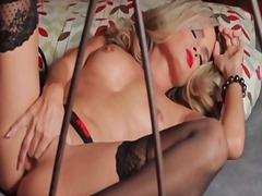 Red lipstick and long ... from Alpha Porno