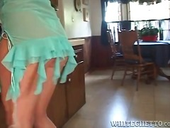 Housewife in kitchen t... from Alpha Porno