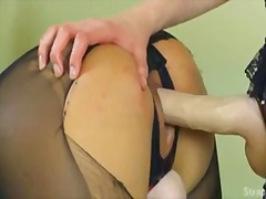PornHub - Two girls + strapon cum