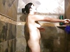 Handjob in the shower from Redtube