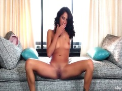 Erotic solo tease in s...