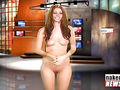 Naked news audition laura from Redtube
