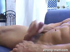 Hot dude whacking off from BoyFriendTV