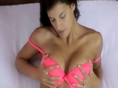 Ultra small tits brune... from IcePorn