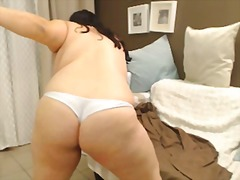 Bbw webcam pole tease
