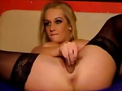 Golden-Haired beauty m... from Private Home Clips
